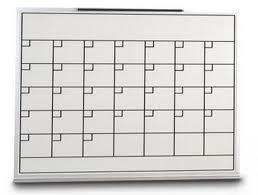dry erase whiteboard calendar pre made