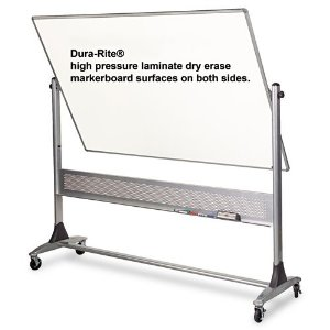 Double sided large whiteboard