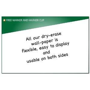 Eco whiteboard paper