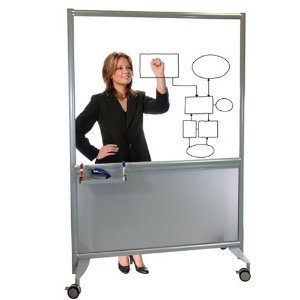 glass portable large whiteboard
