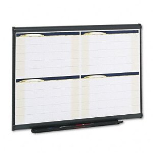 Large Calendar Whiteboard, 4 Month
