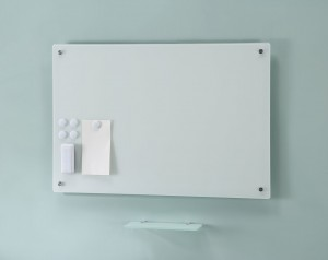 Magnetic Glass Large Whiteboard Board Set